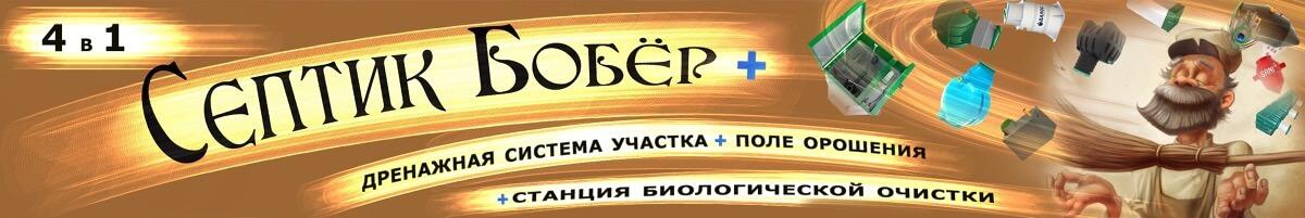 """Плакат на сайт """"Септик Бобёр"""""""